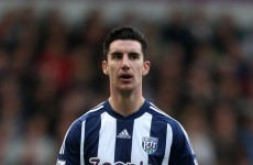 Exposed: West Brom's Liam Ridgewell caught wiping his bum with £20 notes