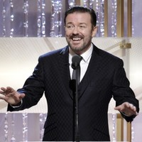 "Gervais plays down rumours over Globes ""missing hour"""