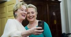 Pic: Hillary Clinton and Meryl Streep are BFFs