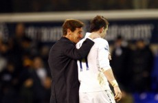 Villas-Boas defends Bale after fresh diving row
