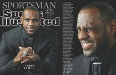 LeBron James is Sports Illustrated's Sportsman of the Year 2012