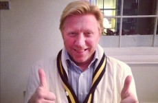 Nobody is going to beat Boris Becker's congratulations tweet to Wills and Kate
