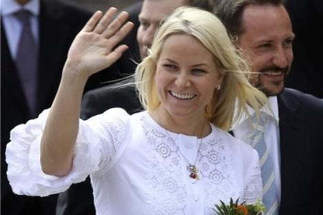 Norwegian Crown Princess Mette-Marit.