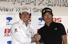 Ishikawa eyes emulating 'hero' McIlroy