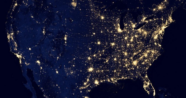 PHOTOS: Dramatic NASA pics show Earth lit up at night