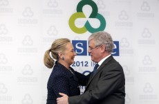 Clinton tells Dublin meeting: 'I'm concerned for future of OSCE'