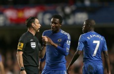 Mikel handed three-match ban after United race row