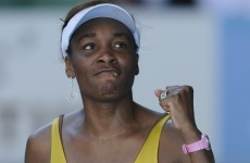 Does my ranking look big in this? Venus causes a storm in latest dress