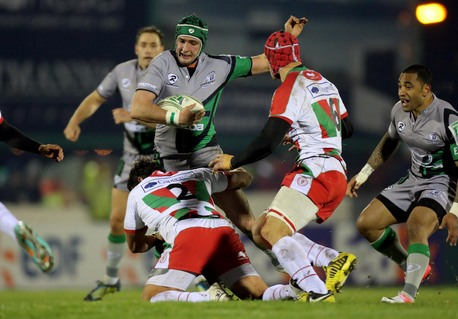 Connacht were in determined form in the opening stages.