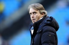 Mancini says City must not lose derby