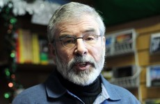 Sinn Féin publishes motion of no confidence in government