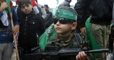 Pics: In fiery speech, Hamas chief says he will cede no land to Israel