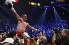Marquez settles old score with Pacquiao in Vegas