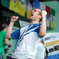 Scott Evans wins Irish Open badminton title