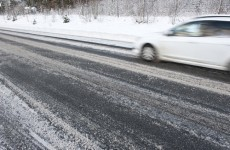 Motorists warned of icy conditions