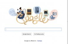 Google doodle honours world's first 'computer programmer' Ada Lovelace