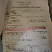 1982: Irish Council of Churches opposed anti-abortion amendment