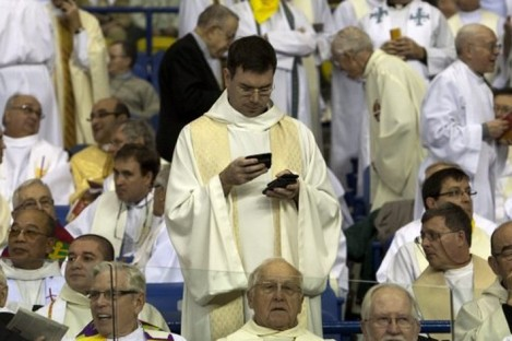 iGod: This mobile-happy priest would understand why the brothers in Glenstal are launching their own app