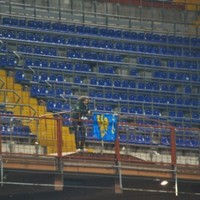 You'll occasionally walk alone? Single Udinese fan makes trip to Sampdoria