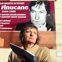 Pat Finucane mural unveiled before de Silva report