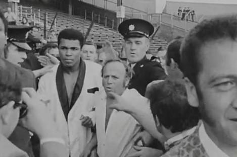 Getting Ali to the ring in Croke Park in 1972