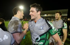 Elwood pays tribute to 'immense' McSharry ahead of Biarritz tilt