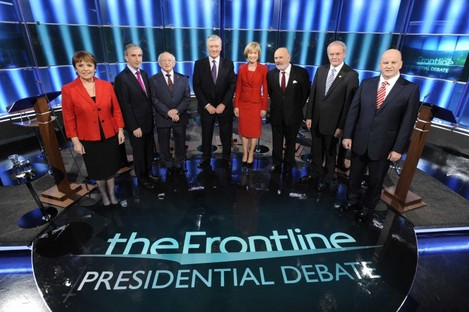 The controversial Frontline presidential debate will be discussed by the Oireachtas Communications committee this morning.