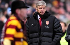 Pressure builds for under-fire Arsene Wenger but Gunners boss blames poor finishing for cup exit