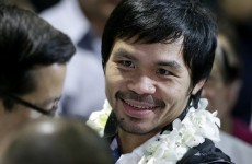 Philippines' Pacquiao promises to 'rise again'