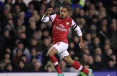 Theo Walcott in Manchester United's sights