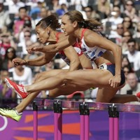 I wish I was there: Jessica Ennis' hurdle victory at London 2012