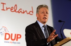 Man charged over death threats to Peter Robinson