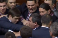 VIDEO: Just your average parliamentary riot in Ukraine