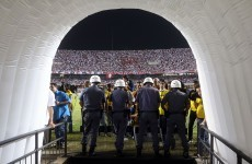 Sao Paulo awarded Copa Sudamericana final as match abandoned amid chaos
