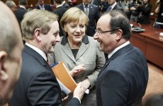 EU leaders repeat aim of splitting bank and sovereign debts