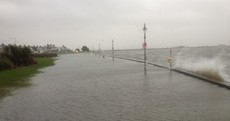 Here's why a flood warning was issued for the south and east coasts...