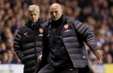 Arsene Wenger dismisses reported rift with assistant Steve Bould