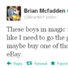 Tweet Sweeper: Brian McFadden is concerned about his manhood