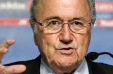 Blatter plans Platini talks on Serbian fine