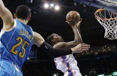 While you were sleeping: Durant guides Thunder to 10th straight win