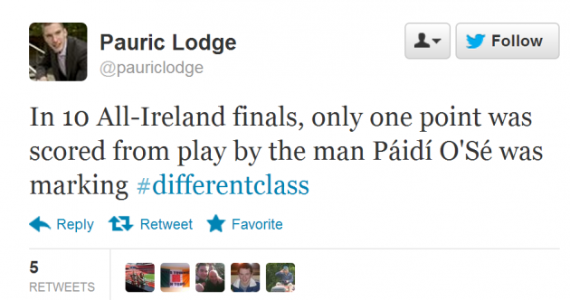 Twitter pays its respects to Kerry legend Páidí Ó Sé