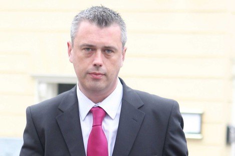 Colm Keavney pictured a