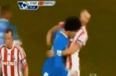 VIDEO: Fellaini escapes punishment after blatant headbutt