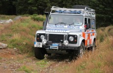 Two people rescued from highest mountain in Wicklow