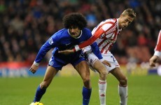 Fellaini apologises for Shawcross headbutt