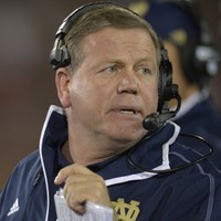 Notre Dame's Brian Kelly named Coach of the Year