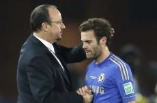 Benitez unfazed by Chelsea fans