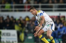 Clermont's Lee Byrne breaks a bone in his back
