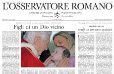 Vatican newspaper slams gay marriage as communist 'utopia'