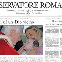 Vatican newspaper slams gay marriage as communist 'utopia'